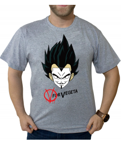 Camiseta V for Vegeta