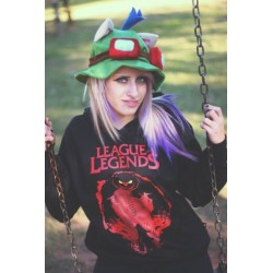 "Moletom Canguru ""League of Legends"""