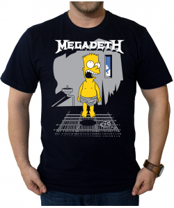 Camiseta Simpsons Megadeth